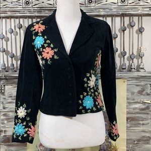Persaman embroidered jacket, Sz 10
